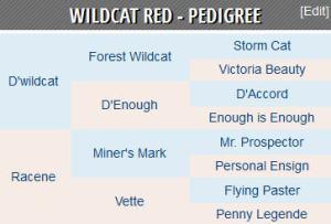 wildcat red pedigree
